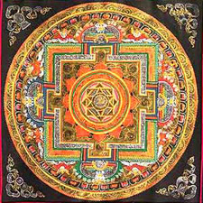 Thanka painting from Nepal